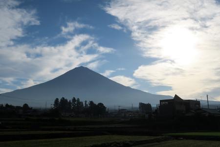 北山付近からの富士山