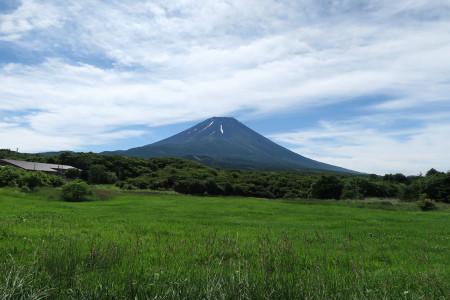 富士ヶ嶺からの夏富士