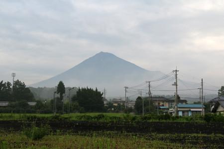7月8日朝の富士山