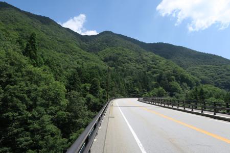 西湖への道