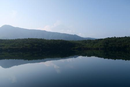 西湖と逆さ富士