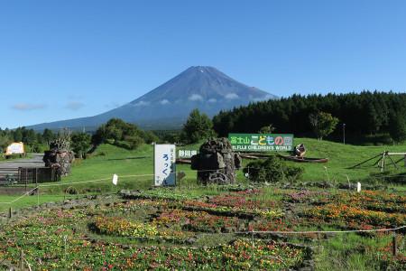 富士山こどもの国前からの富士山