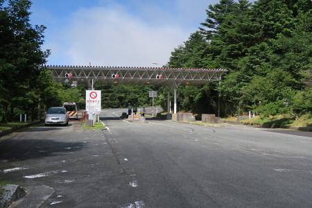 富士山スカイライン登山区間ゲート
