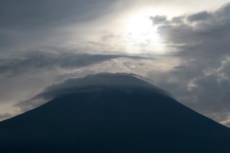 山頂付近ズーム