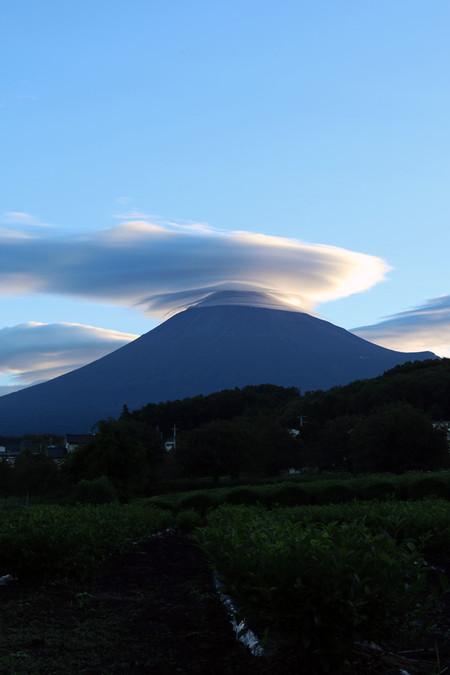 9月10日朝の富士山
