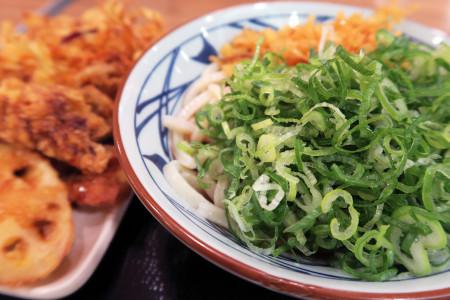 丸亀製麺にて
