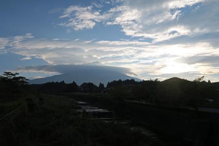 大月線からの富士山