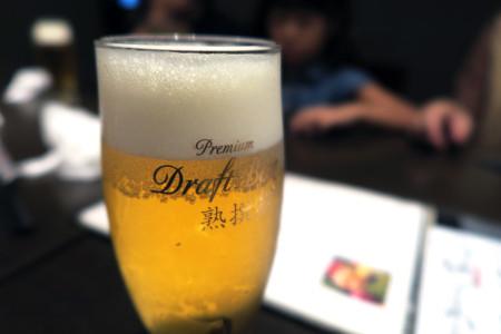 とりあえず?ビール
