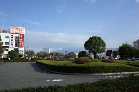 新富士駅からの富士山