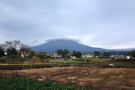 富士山が現れる