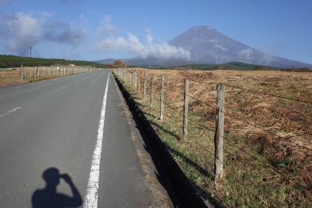 富士山見えはじめる