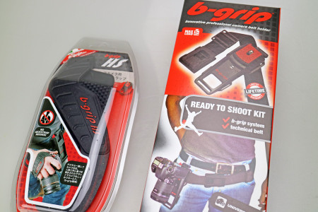 b-grip EVO Camera Belt Holder & HandStrap
