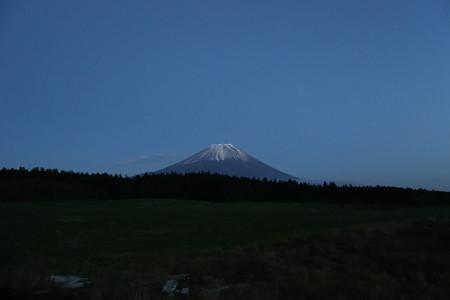 11月12日夕方の富士山