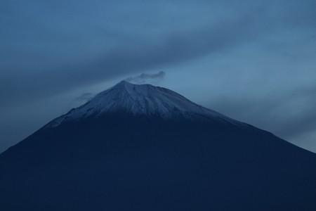 11月18日早朝の富士山