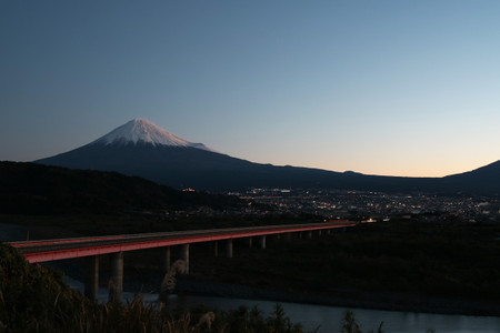 11月27日朝の富士山