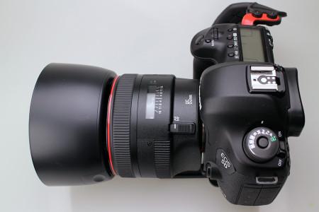 EOS 5D MarkⅢ+EF85mm F1.2L Ⅱ USM