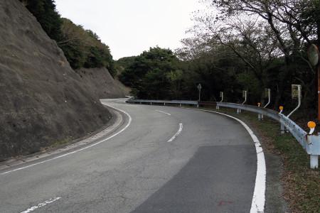 戸田峠への上り