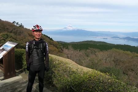 Sさんと富士山と