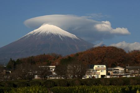 12月16日午後の富士山(富士宮より)