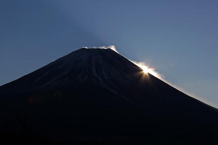 2016年富士山からの初日の出