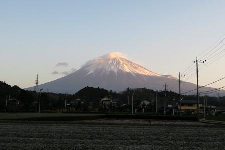 富士山はきれい