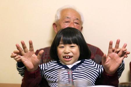 天ぷら屋さんにて