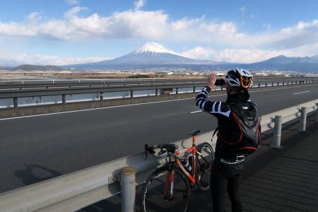 新富士川橋上より