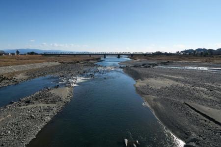 富士川橋からの光景