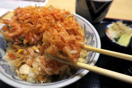 桜えびの黄金丼