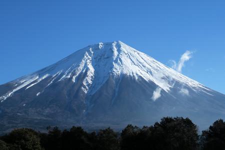 富士ミルクランドそばからの富士山