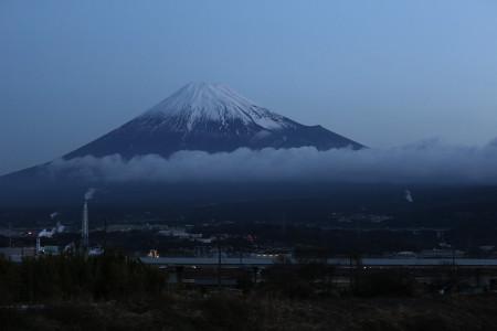 2月15日朝の富士山