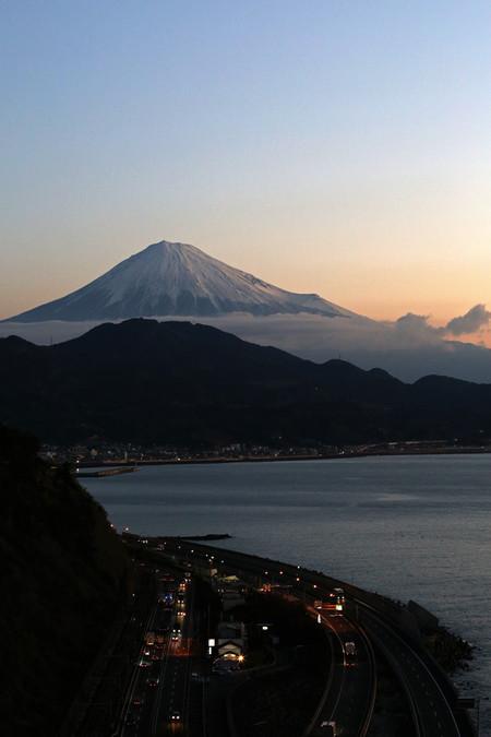 2月16日朝の富士山