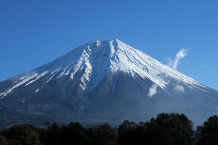 猪之頭からの富士山