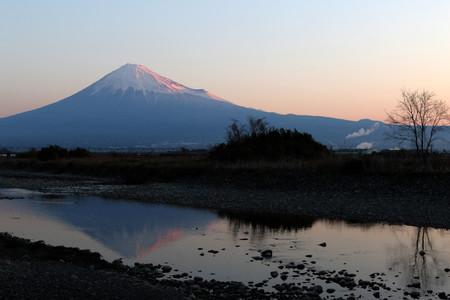 2月27日朝の富士山