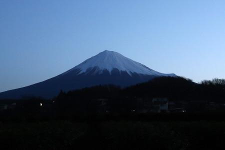 3月8日の富士山