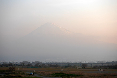 3月31日の富士山