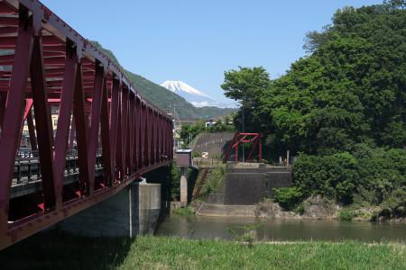 大仁からの富士山