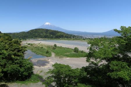 富士川楽座前より