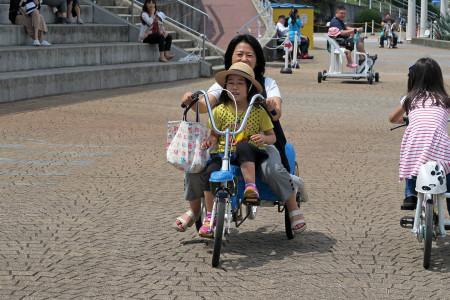 おもしろ自転車
