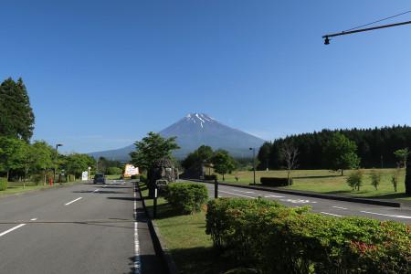 富士山こどもの国からの富士山