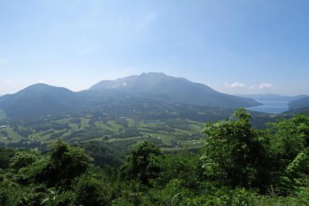 長尾峠からの景色
