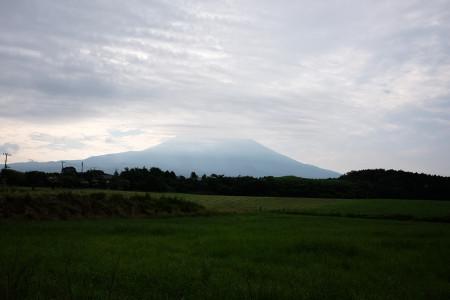 さわやかパーキングからの富士山