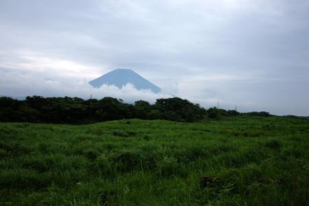根原県境付近からの富士山