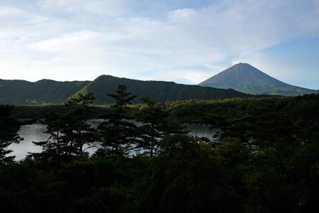 日曜日朝の富士山