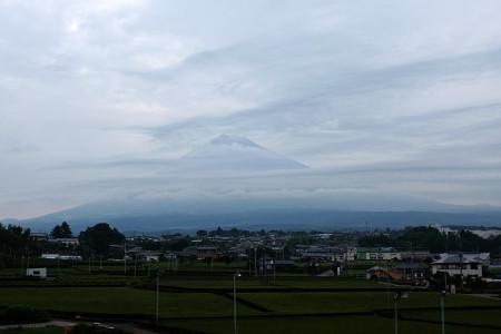 7月26日朝の富士山