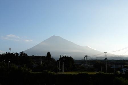 7月29日朝の富士山