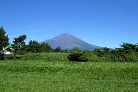 馬頭塚付近からの富士山