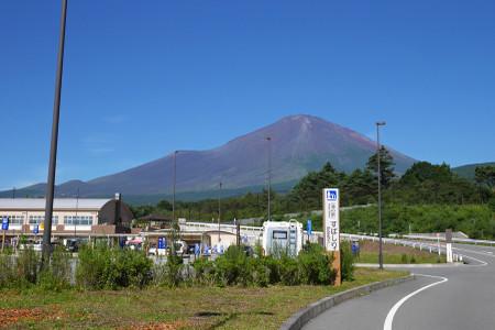 道の駅すばしりからの富士山