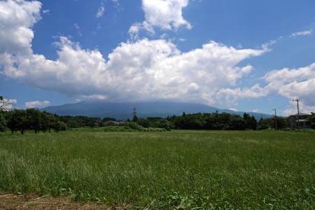 富士ミルクランド付近からの富士山