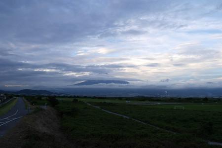 9月5日夕方の富士山